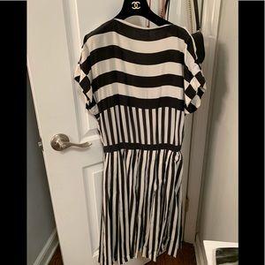 Chanel pleated dress